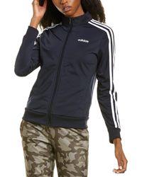 adidas Essential 3-stripe Tricot Track Jacket - Blue