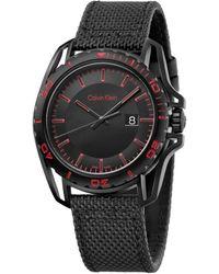 Calvin Klein Earth Watch - Black
