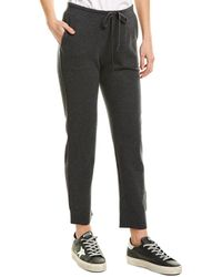 Vince Slouchy Wool & Cashmere-blend Jogger - Grey