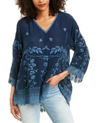 Johnny Was Teyanna Tunic - Blue