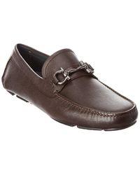 Ferragamo Parigi Leather Loafer - Brown