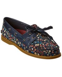 Sperry Top-Sider Top-sider A/o 2-eye Liberty Boat Shoe - Blue
