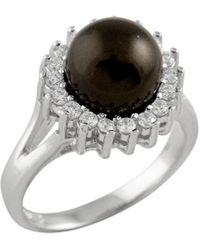 Splendid - Silver 10-10.5mm Freshwater Pearl Ring - Lyst