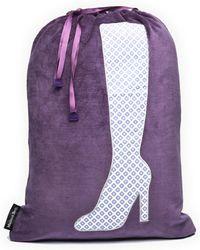 Melissa Beth - Purple Boot Bag - Lyst