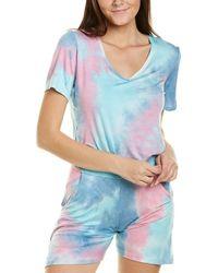 Melissa Masse V-neck T-shirt - Pink