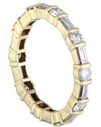Heritage Van Cleef & Arpels - Van Cleef & Arpels 18k 1.50 Ct. Tw. Diamond Ring - Lyst