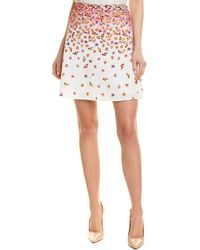 Robert Graham Mini Skirt - White