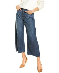 Siwy Chloe Stay With You Wide Leg Jean - Blue
