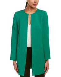 Tahari Tahari Asl Coat - Green