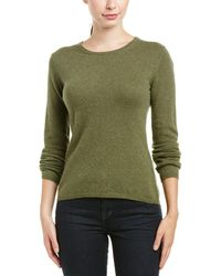 Quinn Cashmere Sweater - Green