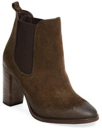 N.d.c. Made By Hand Perlata Softy Leather Bootie - Brown