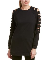 Romeo and Juliet Couture - Cutout Sleeve Tunic Jumper - Lyst