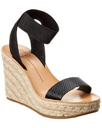 Dolce Vita Paula Wedge Sandal - Black