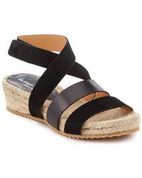 Bettye Muller - Safron Leather Sandal - Lyst