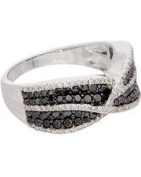 Effy - Fine Jewellery 14k 1.17 Ct. Tw. Diamond Ring - Lyst