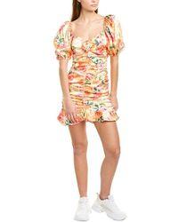 For Love & Lemons For Love & Lemons Versilla Mini Dress - Pink