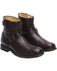 Frye Men's Tyler Leather Engineer Boot - Multicolour