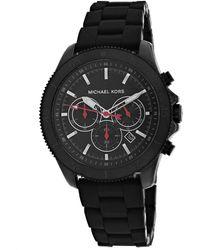 Michael Kors Men's Cortlandt Watch - Black