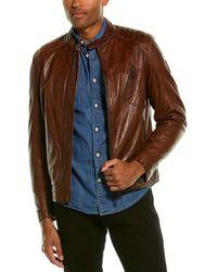 Belstaff Racer 2.0 Leather Jacket - Brown