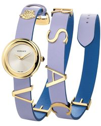 Versace V-flare Watch - Blue