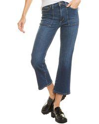 Joe's Jeans Joe?s Jeans The Callie Lucy Cropped Bootcut Jean - Blue