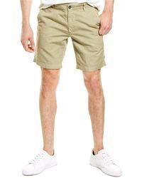 AG Jeans Wanderer Linen-blend Short - Green