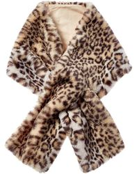 Hat Attack Luxe Pull Thru Scarf - Brown