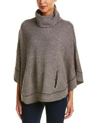 Romeo and Juliet Couture Turtleneck Poncho - Multicolour