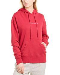 Spiritual Gangster Phoebe Oversized Hoodie - Red