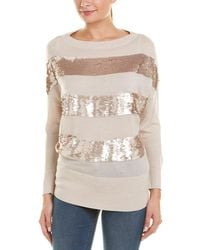Reiss Jude Wool-blend Sweater - Natural