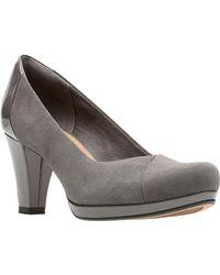 c1dcb3538871 Lyst - Clarks Women s Bassett Mist Pumps Shoes in Red