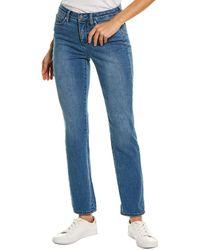 NYDJ Sheri Clean Brickell Slim Leg Jean - Blue