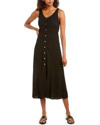 Emerson Fry June Midi Dress - Black