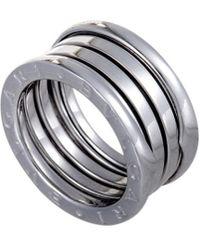 BVLGARI 18k B. Zero 1 Ring - Metallic