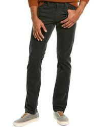 J Brand Tyler Nudicium Corduroy Slim Leg Jean - Black