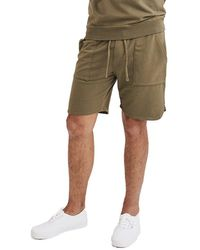 Goodlife Clothing Micro Terry Scallop Short - Green