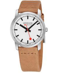 Mondaine - Simply Elgnt Watch - Lyst