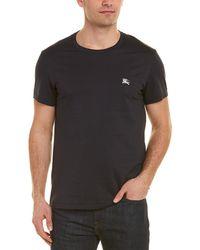 Burberry Cotton Jersey T-shirt - Black