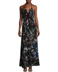 Jill Stuart Sophie Floral Dress - Black