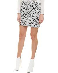 ATM Anthony Thomas Melillo Twill Mini Skirt - Grey