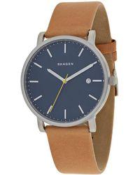 Skagen Denmark Men's Hagen Watch - Blue