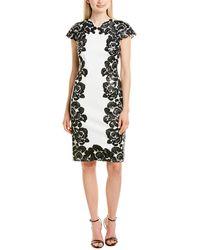 Tadashi Shoji Sheath Dress - White