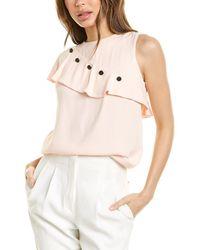 Maje Lorena Top - Pink