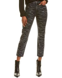 7 For All Mankind 7 For All Mankind Zebra Crystal Jean Jean - Blue