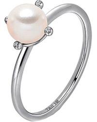 Tara Pearls - 14k Diamond Ring - Lyst