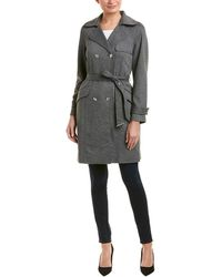 Jones New York Coat - Gray