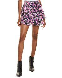 IRO Sprink Mini Skirt - Purple