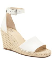 Vince Camuto Maaza Leather Wedge Sandal - Multicolour