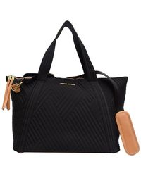 Adrienne Vittadini - Quilted Tote - Lyst