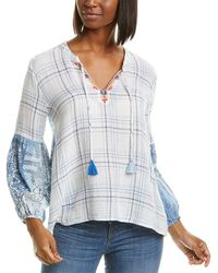 Johnny Was - Peasant Blouse - Lyst